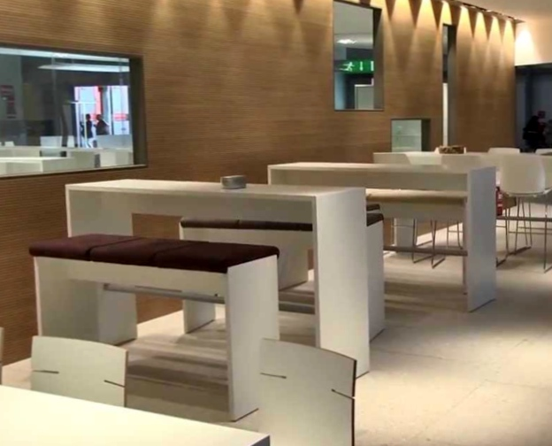 Где заказать обустройство офисного пространства в современном стиле?