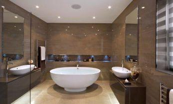 Каким материалом можно облицевать ванную комнату?